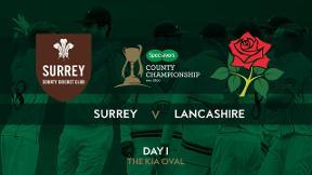 Highlights: Surrey v Lancashire - Day 1