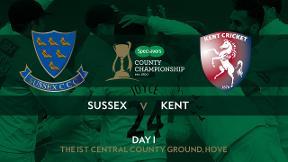 Highlights: Sussex v Kent - Day 1