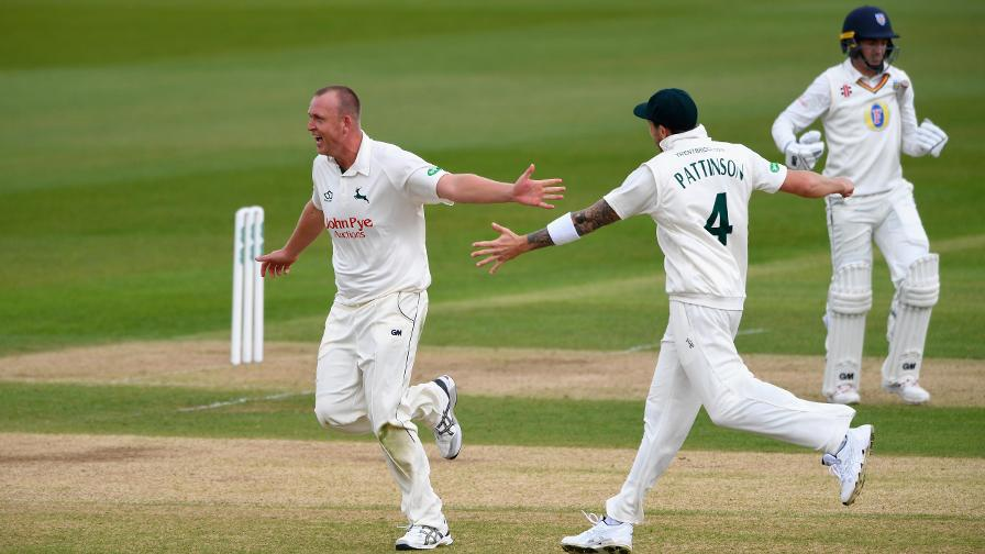 FLETCH STRIKES - Batting woes for Durham