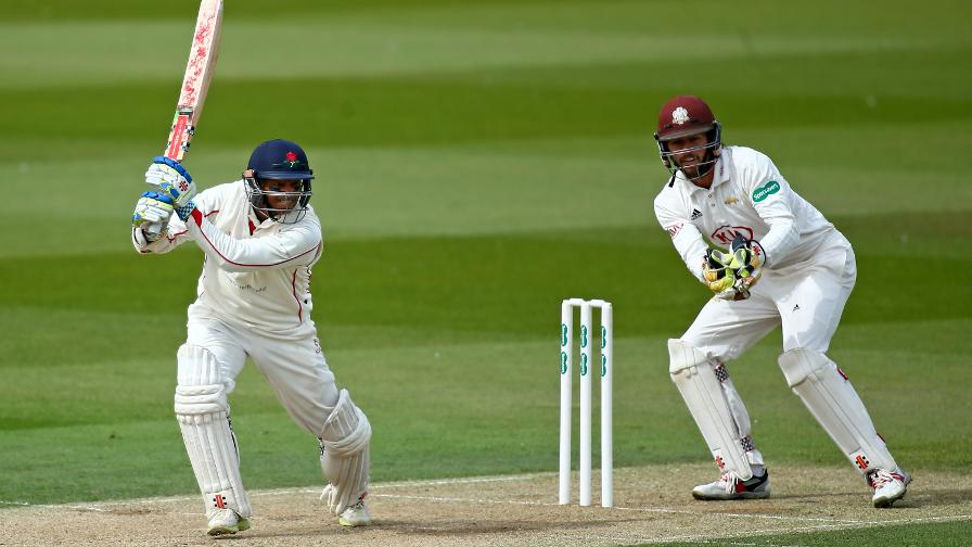 Shiv shines at The Oval as wickets tumble at Taunton