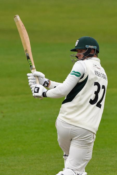 Tom Kohler-Cadmore hit 11 fours in his impressive knock