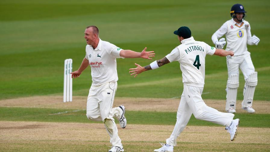 Fletcher puts Notts on top despite batting heartache