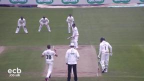 Highlights - Durham v Nottinghamshire Day 3