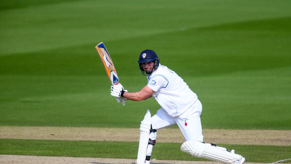 Derbyshire skipper Billy Godleman came very close to collecting his hundred
