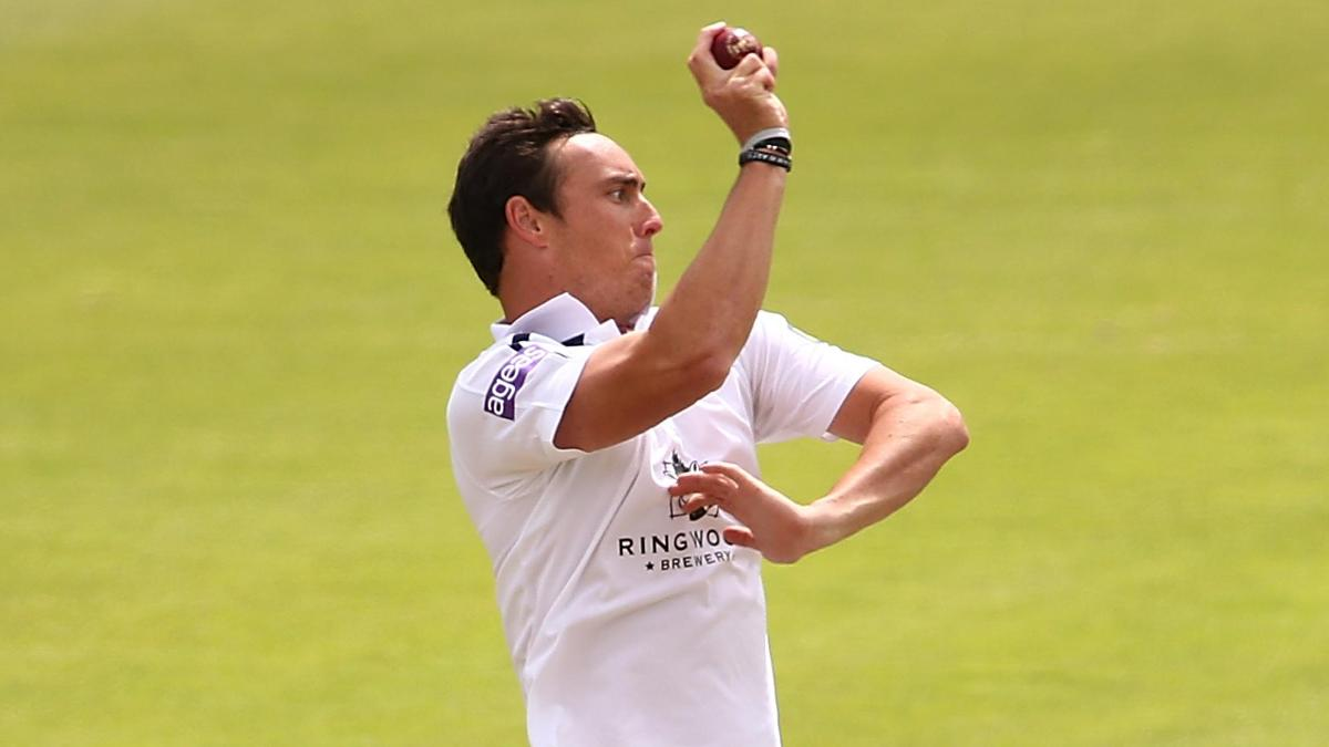 Kyle Abbott took 4/32 in the second innings