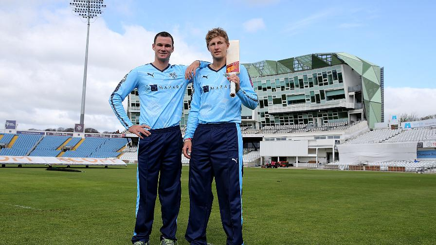 Ashes rivalry on show at Yorkshire