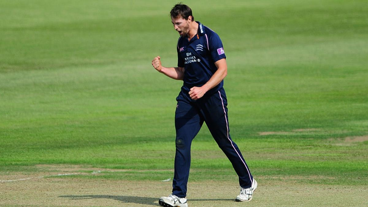 Fast bowler James Fuller joined Middlesex from Gloucestershire