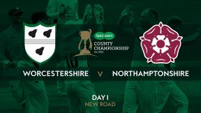 Highlights - Worcestershire v Northamptonshire Day 1