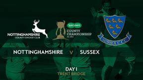 Highlights - Nottinghamshire v Sussex Day 1