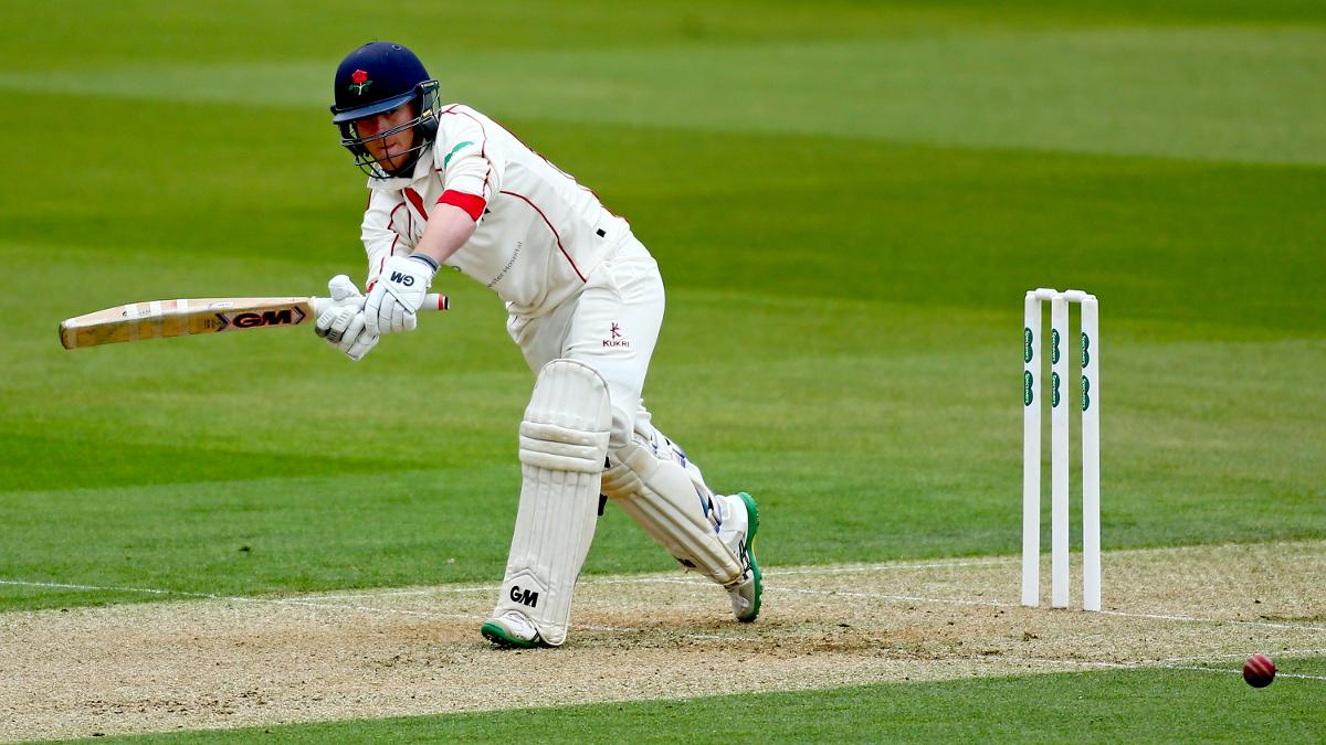 Alex Davies was 78* at the close of play on day two