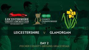 Highlights - Leicestershire v Glamorgan Day 2