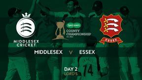 Highlights - Middlesex v Essex Day 2