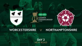 Highlights - Worcestershire v Northamptonshire Day 2