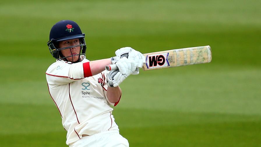 Lancashire battle back after Elgar ton