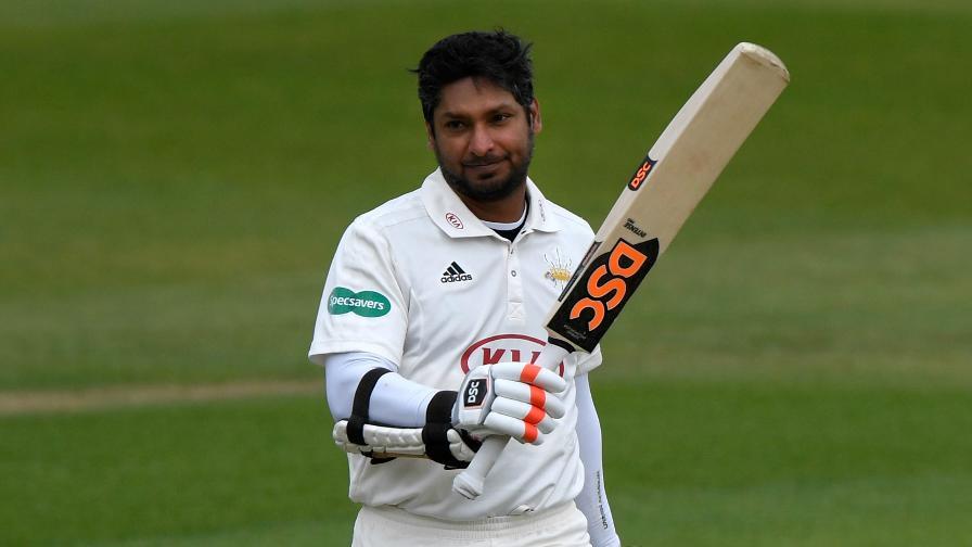 Sangakkara century puts Surrey in box seat