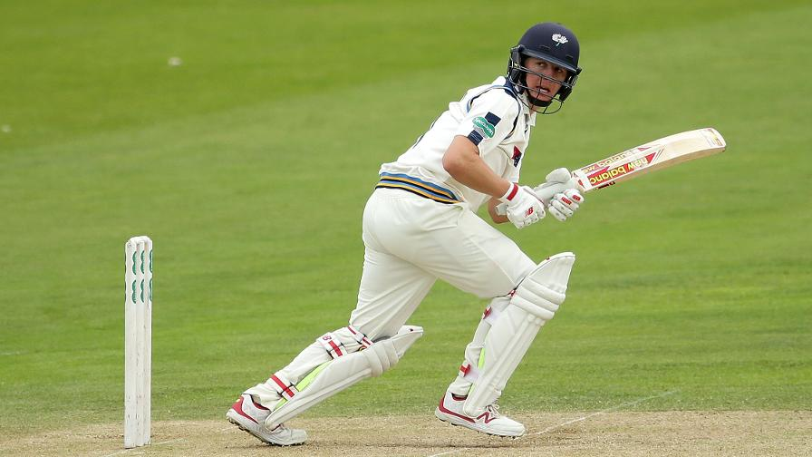 Ballance gives Yorkshire fighting chance