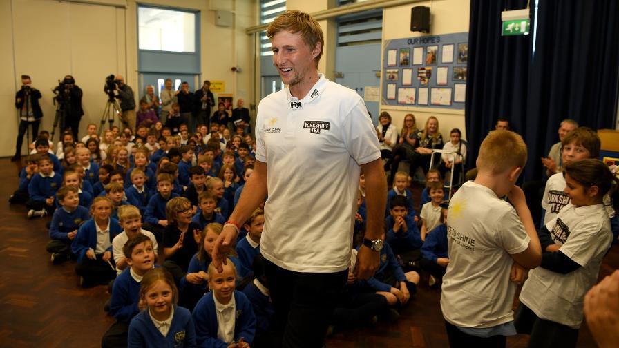 England captain Joe Root returns to old school