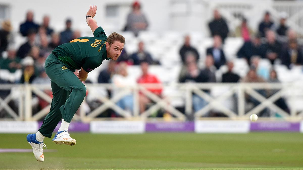 Stuart Broad's Notts Outlaws locked down third place in the North Group