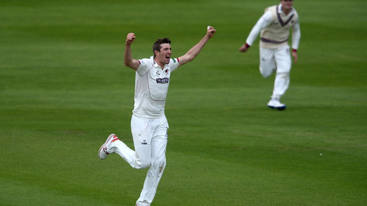 Craig Overton scored 35 with the bat, before taking two Yorkshire wickets early on