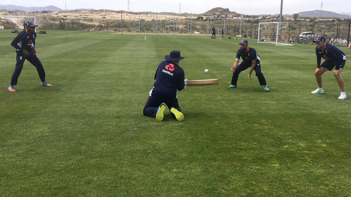 There was a real emphasis put on fielding during our time in Spain