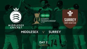 Highlights - Middlesex v Surrey Day 2