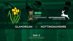 Highlights - Glamorgan v Nottinghamshire Day 2