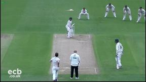 Highlights - Leicestershire v Kent Day 2