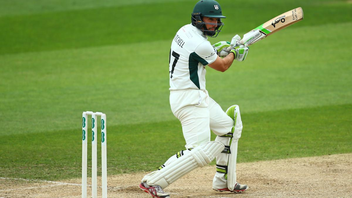 Worcestershire's Daryl Mitchell had another day to remember with the bat