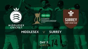 Highlights - Middlesex v Surrey Day 3