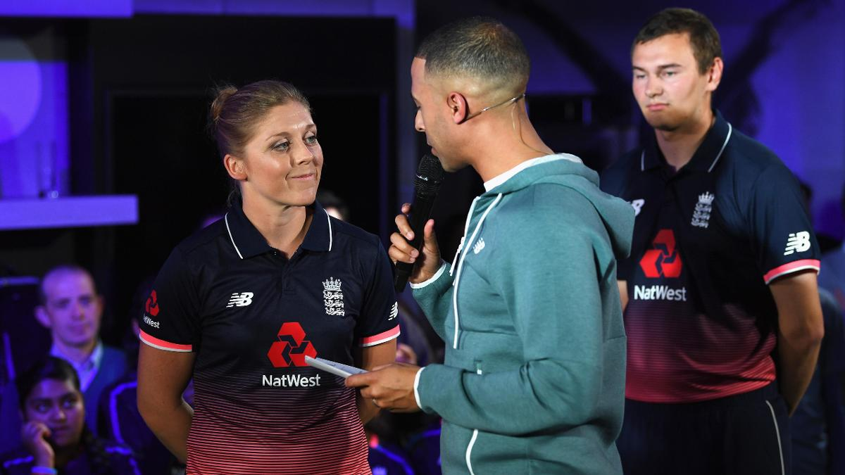 Heather Knight is recovering from a stress fracture