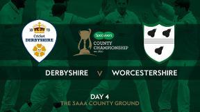 Highlights - Derbyshire v Worcestershire Day 4