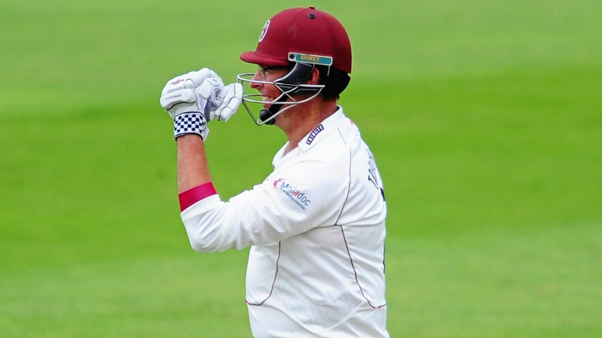 Marcus Trescothick now has more Somerset centuries to his name than anyone else