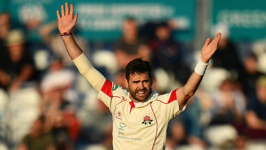 Anderson returns to Lancs squad