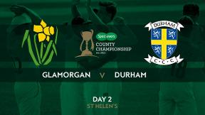 Highlights - Glamorgan v Durham Day 2