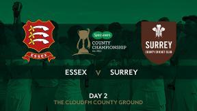 Highlights - Essex v Surrey Day 2