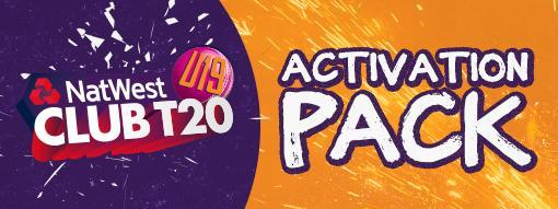 NatWest U19 Club T20 activation pack