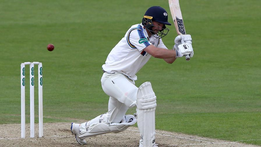 Yorkshire in pole position after Lyth century