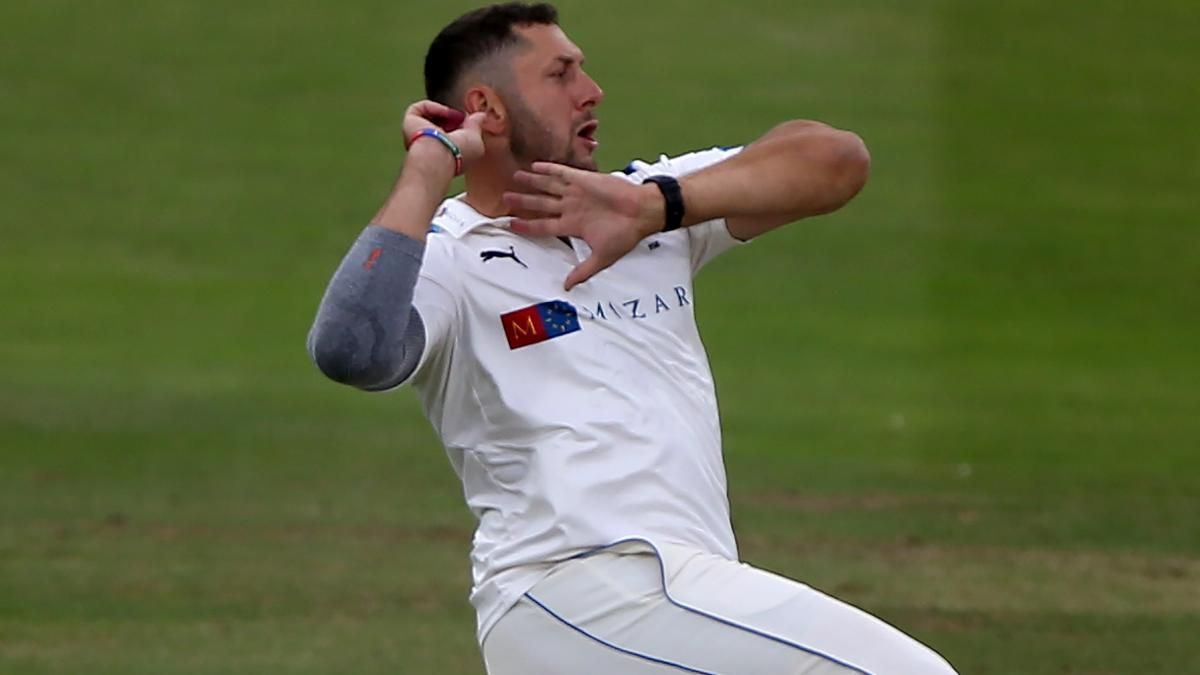 Tim Bresnan picked up three wickets for 11 runs in the morning session to bowl Lancashire out for 209 in their second innings