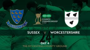 Highlights - Sussex v Worcestershire Day 4