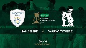 Highlights - Hampshire v Warwickshire Day 4