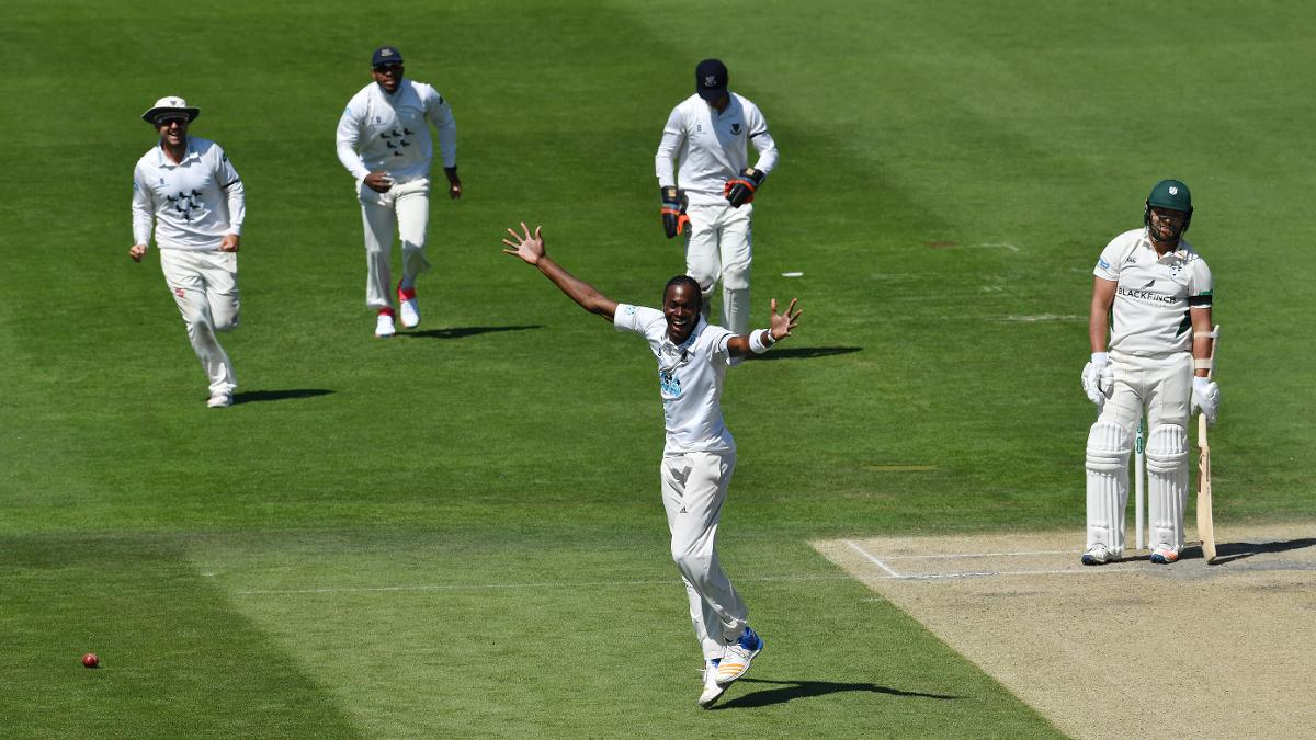 Jofra Archer bagged himself five wickets in the match