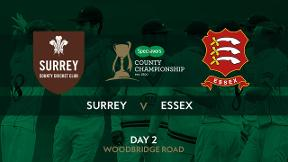 Highlights - Surrey v Essex Day 2