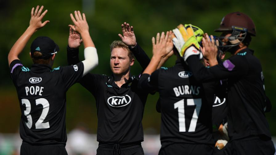Surrey thrash Worcs to reach Lord's final