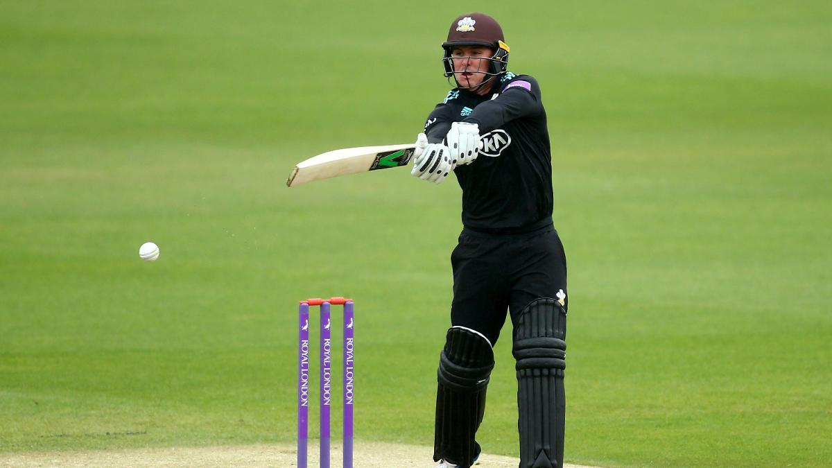 Surrey opener Jason Roy hit a brilliant 92 in the semi-final