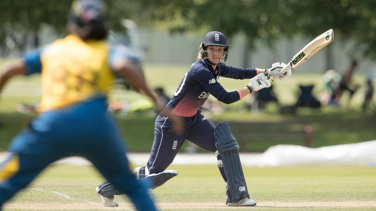 Sarah Taylor has hit form less than a week before the World Cup begins