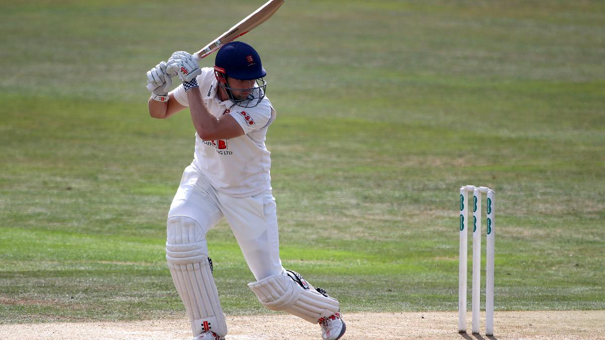 Nick Browne hit his highest score of the Champ season for Essex in a resolute batting performance