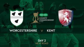 Highlights - Worcestershire v Kent Day 2