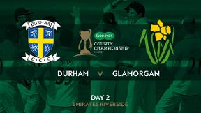 Highlights - Durham v Glamorgan Day 2