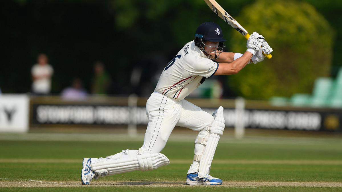 A lovely double hundred from Joe Denly has put Kent in the driving seat against Worcestershire