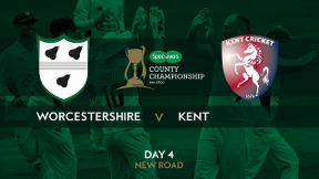 Highlights - Worcestershire v Kent Day 4